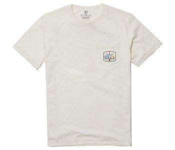Vissla - T-shirt homme cosmic garden upcycled bone