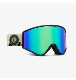 electric Electric - Lunette snowboard femme kleveland small camo/lens brose green chrome