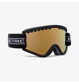 electric Electric - Lunette snowboard junior egv.k black tape/lens brose gold chrome