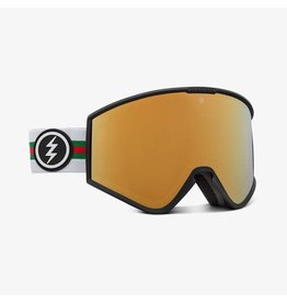 electric Electric - Lunette snowboard homme kleveland+ forza/lens brose gold chrome