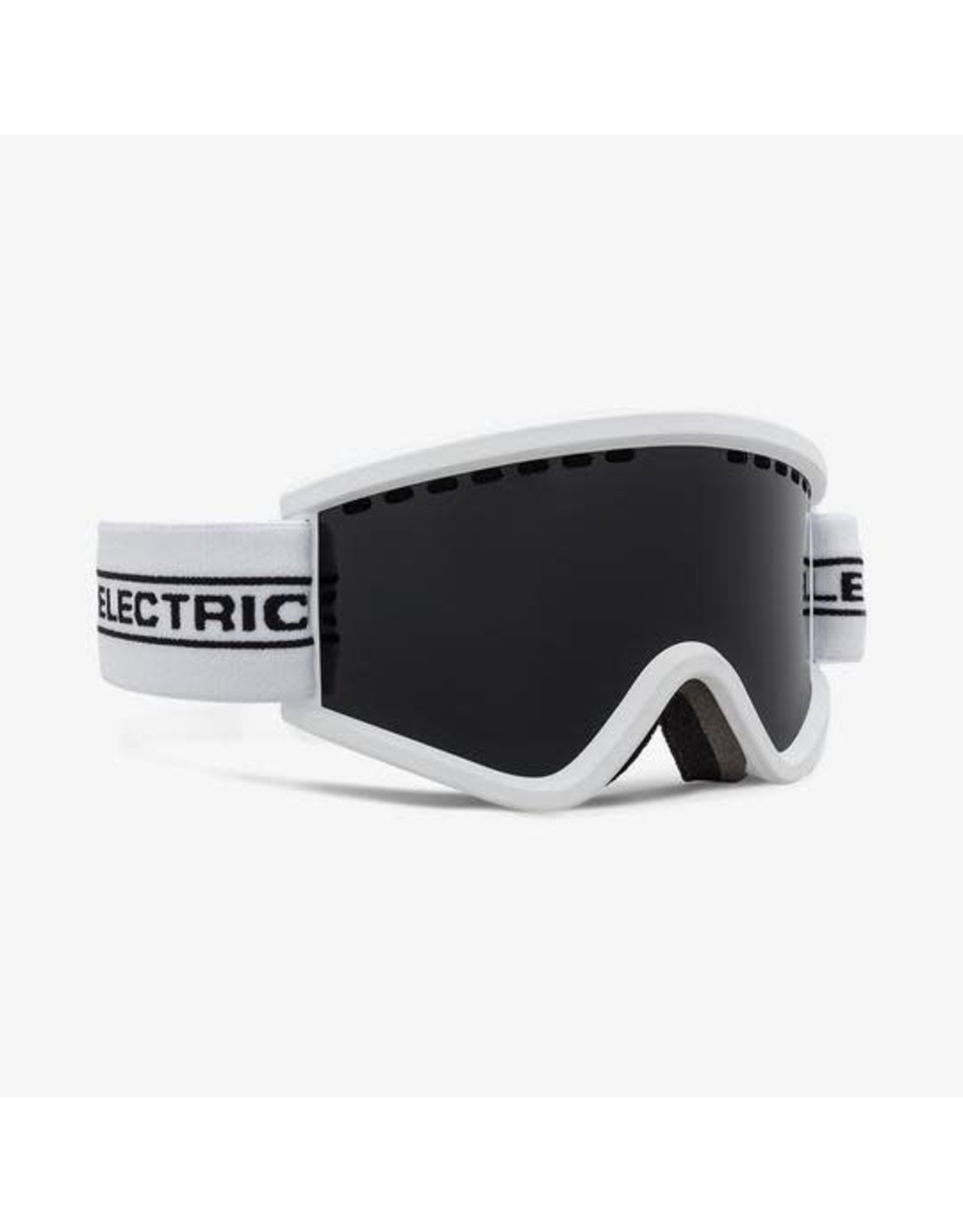 electric Electric - Lunette snowboard junior egv.k white tape lens jet black