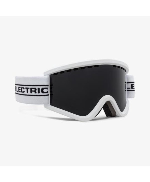 Electric - Lunette snowboard junior egv.k white tape lens jet black