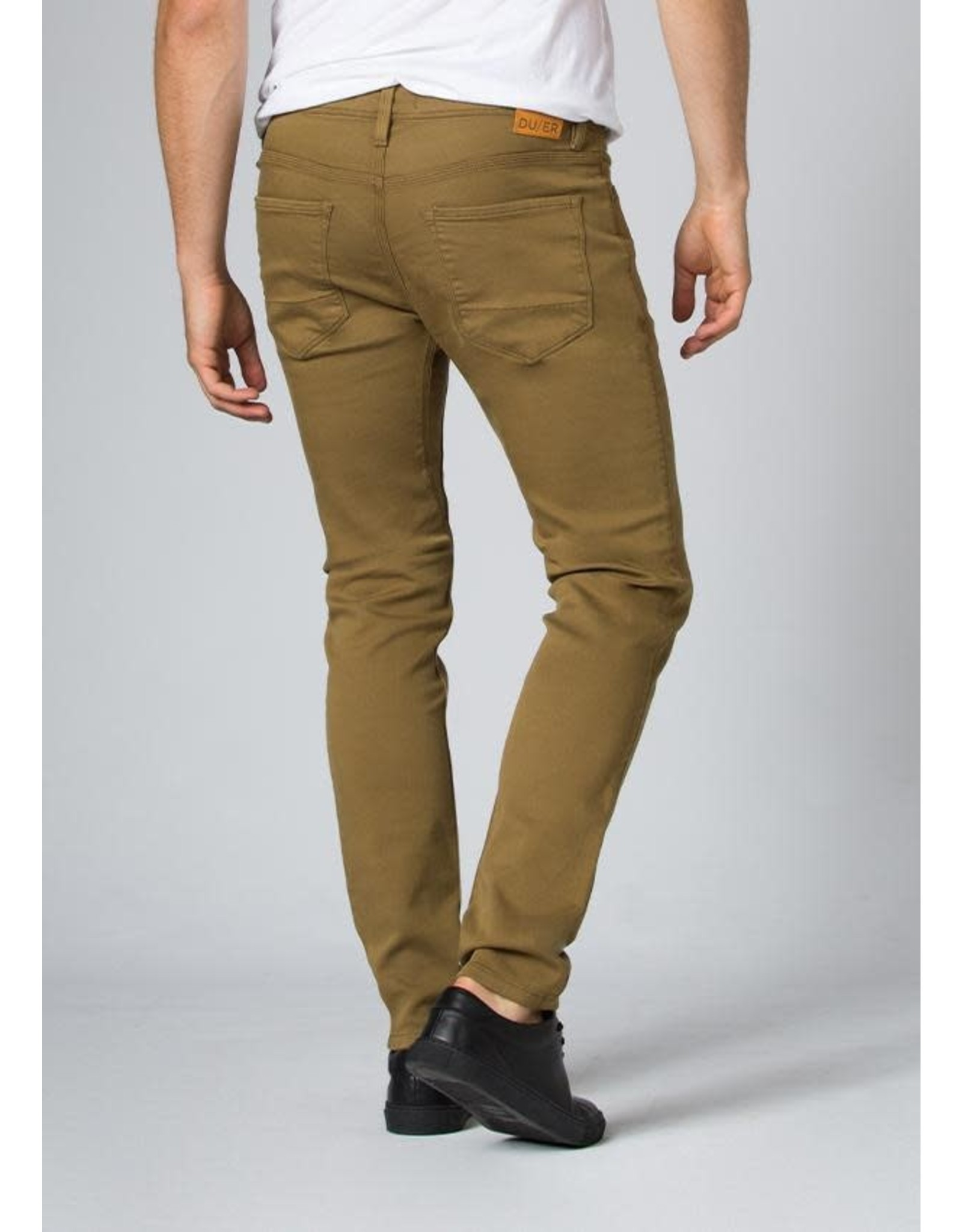 DU/ER Du/er - Pantalon homme no sweat slim tobacco