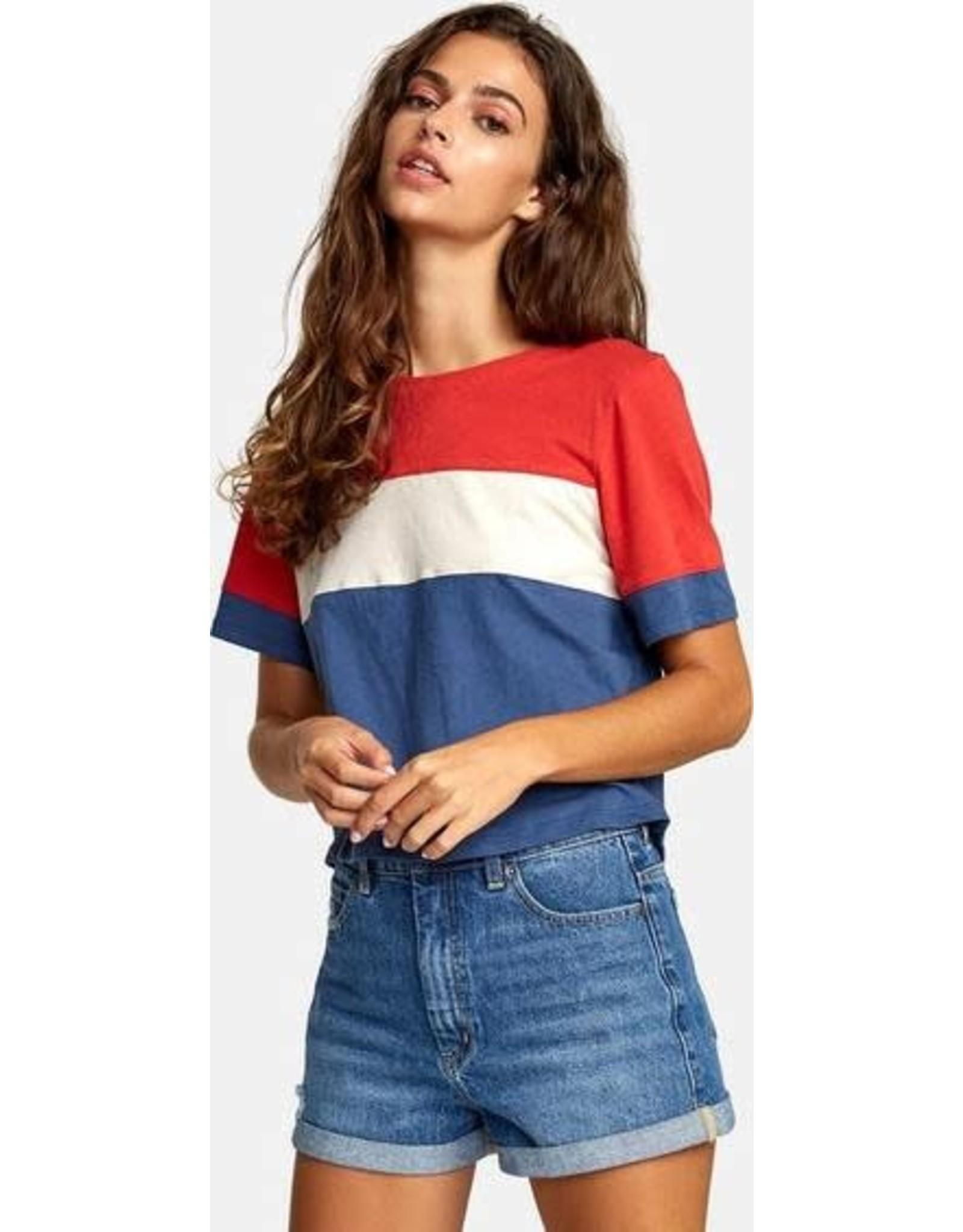 rvca Rvca - T-shirt femme adeline dark denim