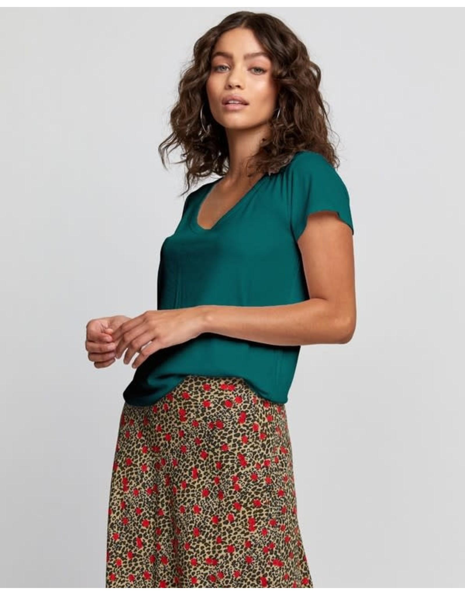 rvca Rvca - T-shirt femme ash storm green