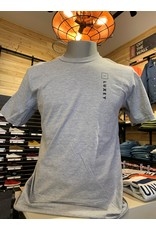 luxey Luxey - T-shirt homme up/side down heather grey/cendré