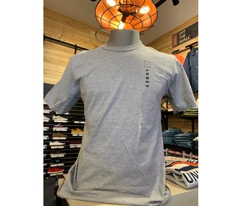 Luxey - T-shirt homme up/side down heather grey/cendré