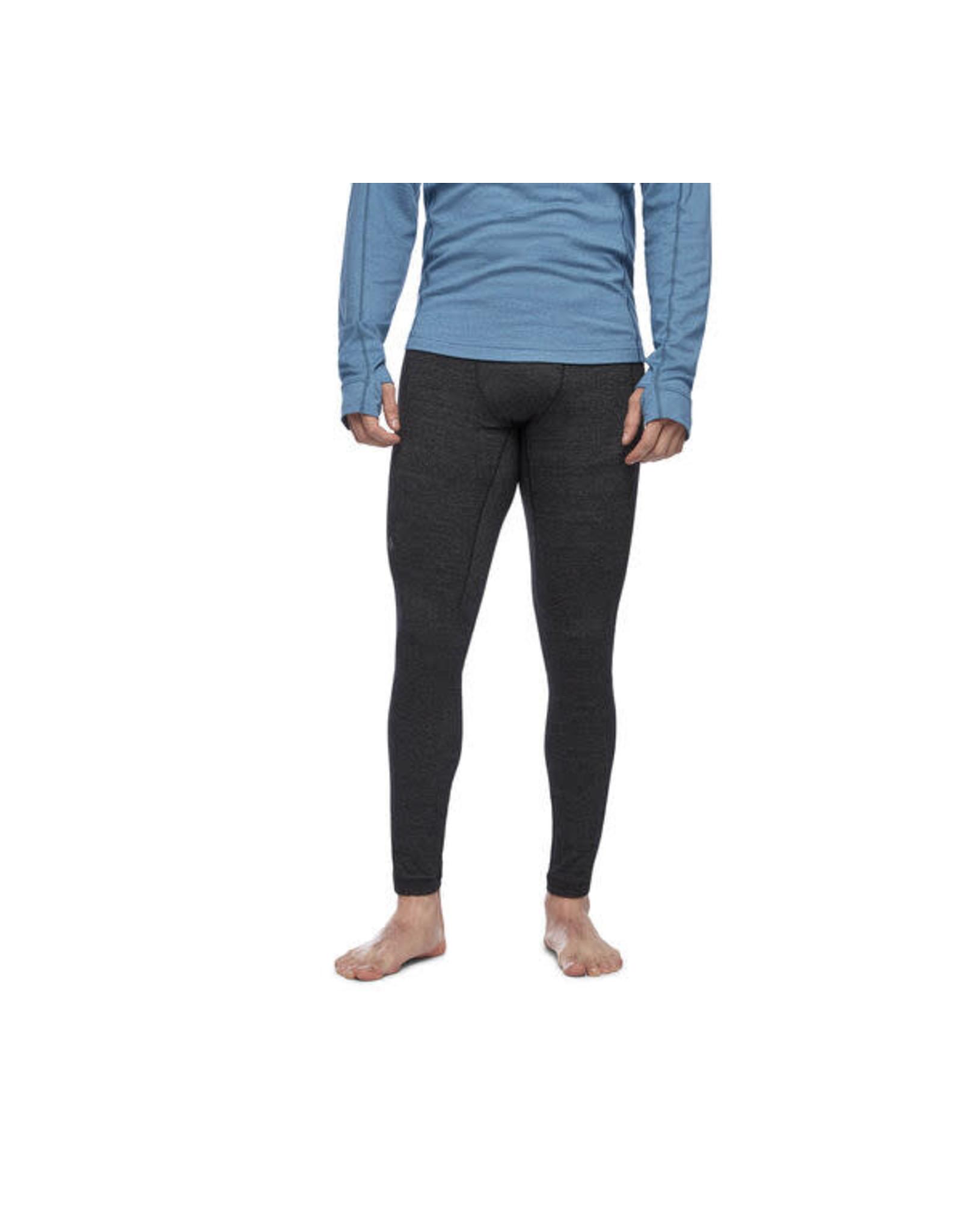 Black Diamond Black Diamond - Pantalon solution 150 merino base 3 qtr black