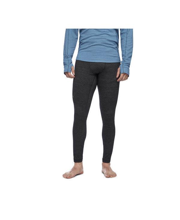 Black Diamond - Pantalon homme solution 150 merino base 3/4 black