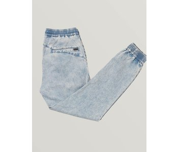 Volcom - Pantalon homme frickin slim jogger cloud blue