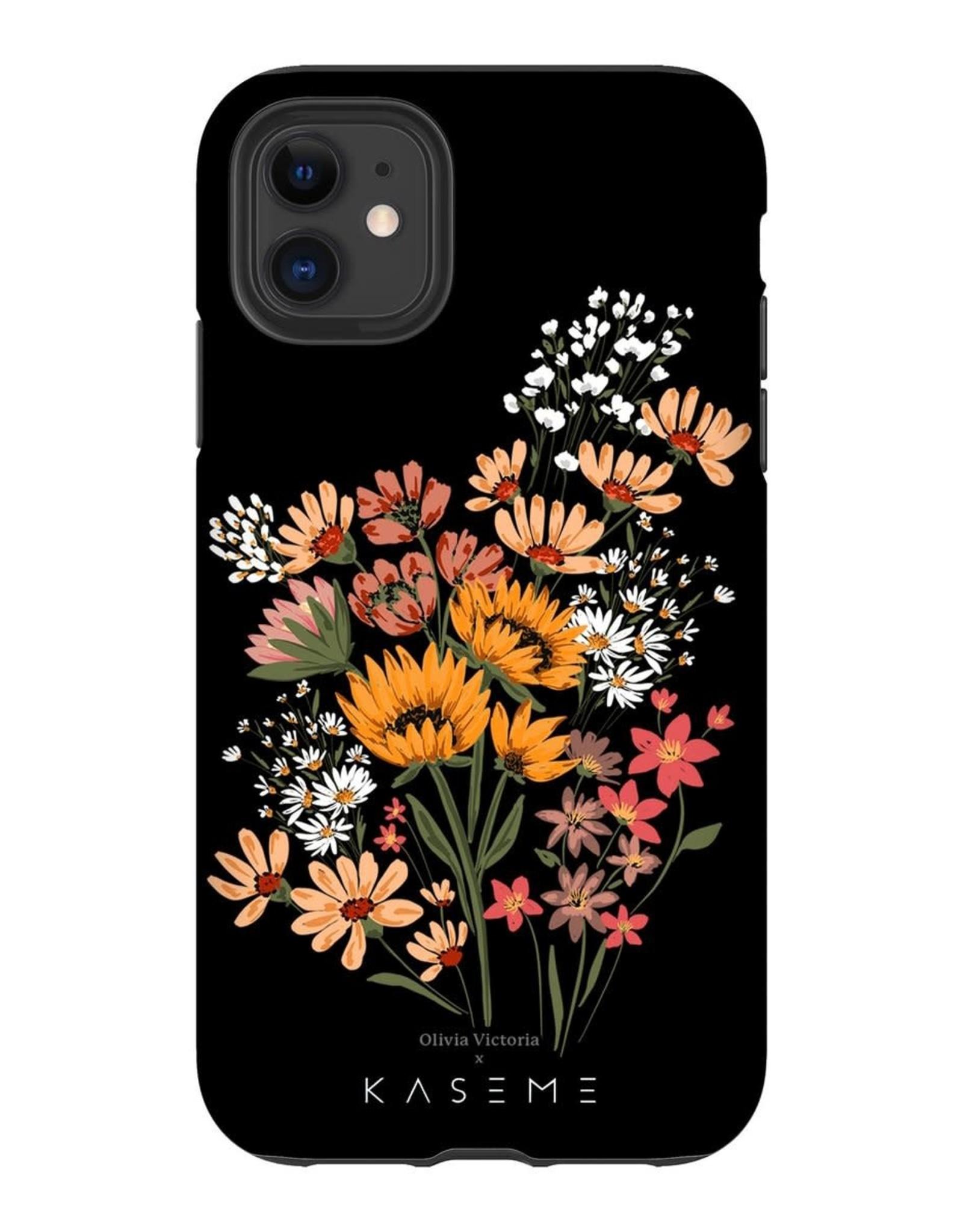 Kaseme Kaseme - Étui celullaire floral romance by olivia victoria