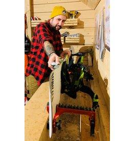 m2 boardshop Service - Aiguisage snowboards et skis