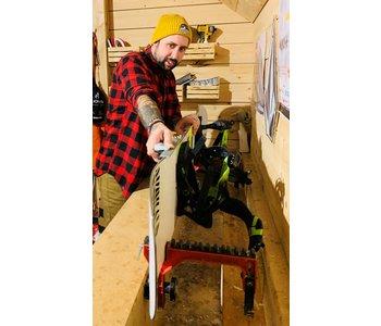 Service - Aiguisage snowboards et skis