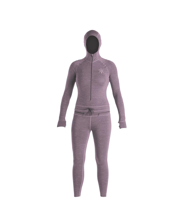 Airblaster - Sous-vêtement femme merino ninja suit dark lavender