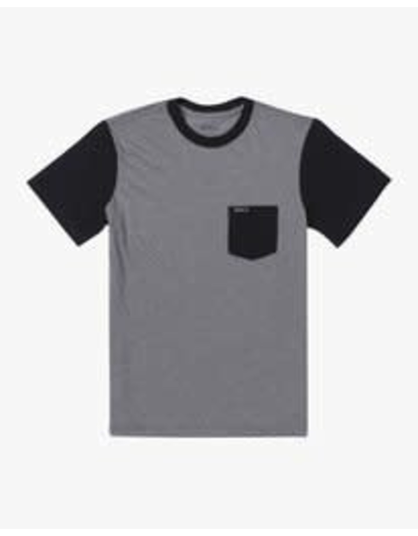 rvca Rvca - T-shirt junior  ollie color block grey noise