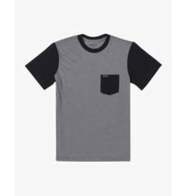 rvca Rvca - T-shirt junior  ollie color block grey noise