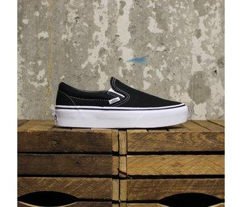 Vans - Soulier femme classic slip-on platform black