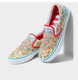 vans Vans Soulier homme classic slip-on where's waldo