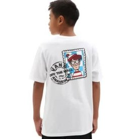 vans Vans - T-shirt junior stamp  vans X where's waldo