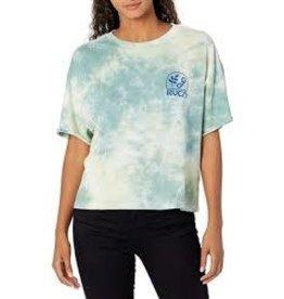 rvca Rvca - T-shirt femme chainlink green