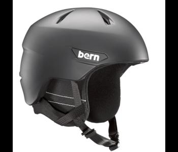 Bern - Casque snowboard homme weston matte black