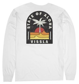 Vissla Vissla - Chandail long homme toasty coast pocket vintage white