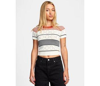 Rvca - T-shirt femme jasper cloud