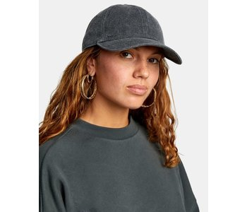 Rvca - Casquette femme staple dad washed black