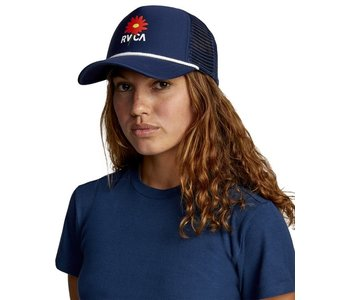 Rvca - Casquette femme unphased trucker ink