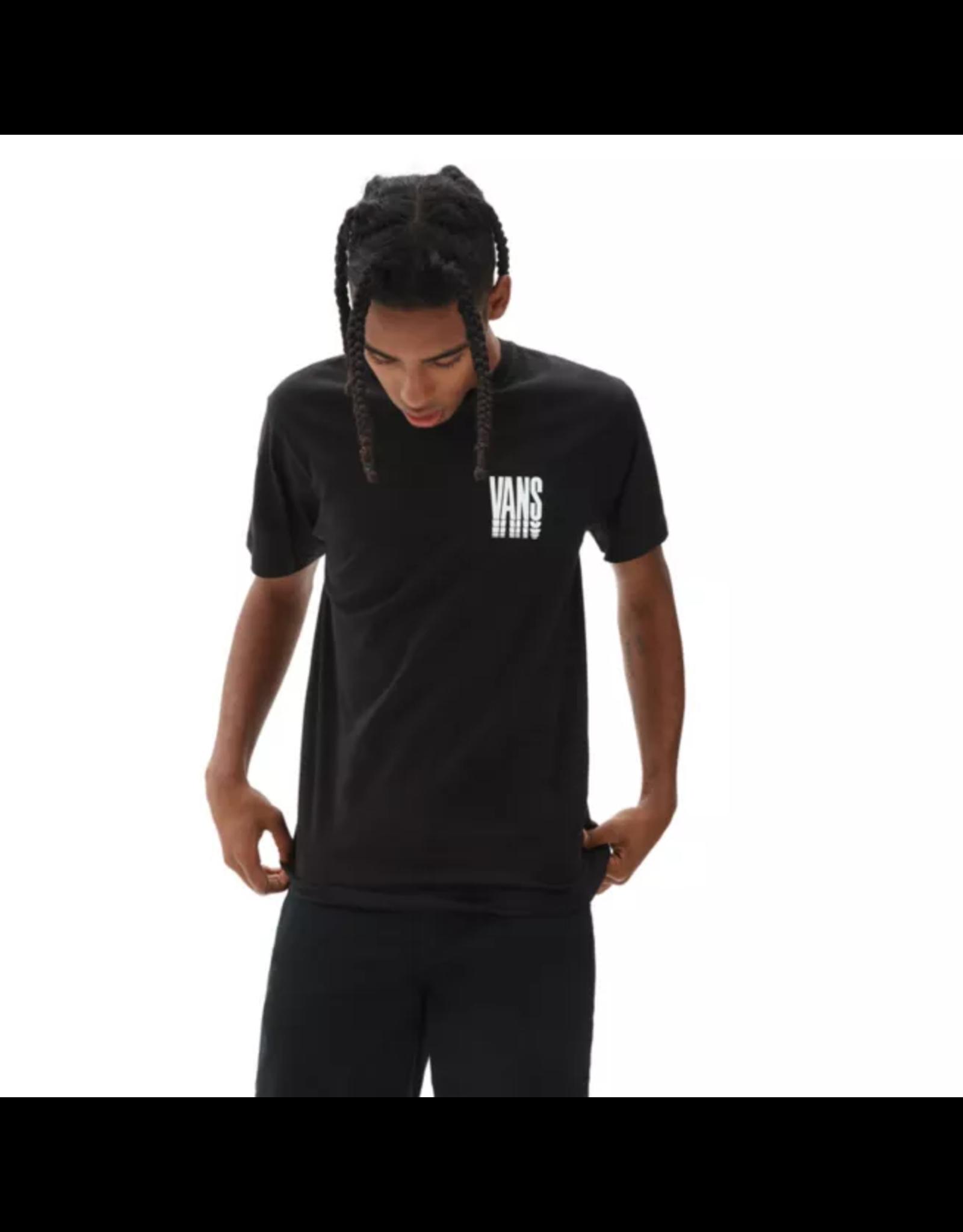 vans Vans- T-shirt homme reflect black