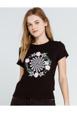 vans Vans - T-shirt femme circle daze crew black