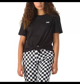 vans Vans - T-shirt femme junior v knot black