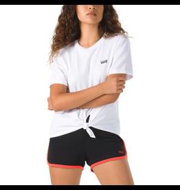 vans Vans - T-shirt femme junior v knot white