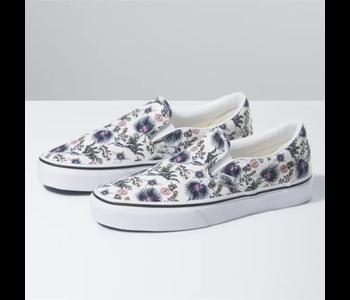 Vans - Soulier femme classic slip-on paradise floral/true white