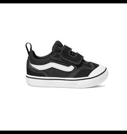 vans Vans - Soulier toddler comfycush new skool v black/true white