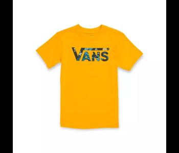 Vans - T-shirt toddler classic logo saffron