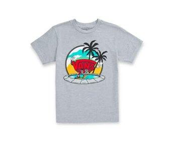 Vans - T-shirt toddler dual palm grind k athletic heather