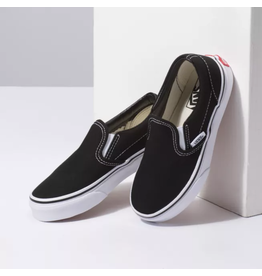 vans Vans - Soulier junior classic slip-on black/true white