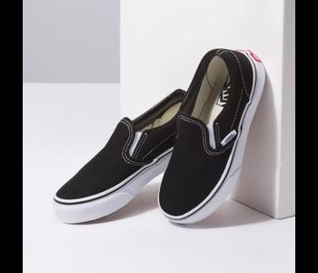 Vans - Soulier junior classic slip-on black/true white