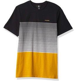 volcom Volcom - T-shirt junior lido liney crew black
