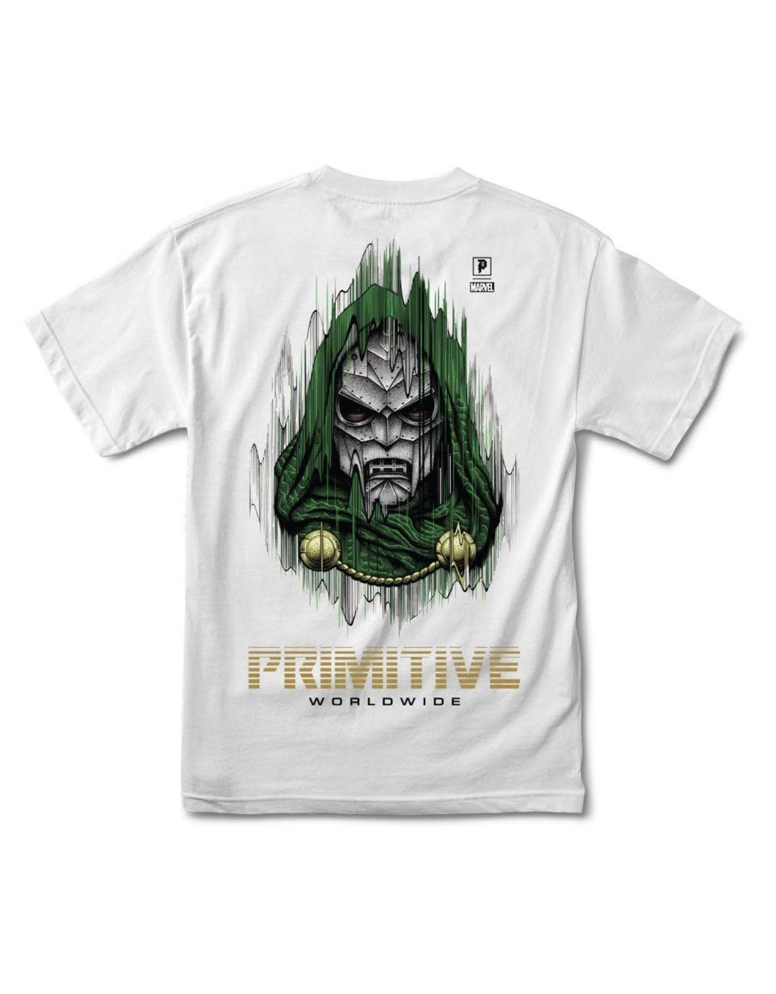 primitive Primitive - T-shirt homme marvel  doom white