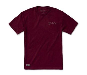 Primitive - T-shirt homme marvel wolverine burgundy