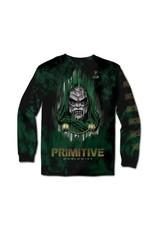 primitive Primitive - Chandail long homme doom washed green