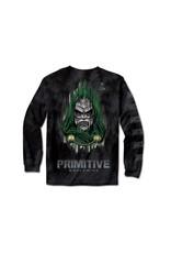 primitive Primitive - Chandail long homme marvel doom washed black