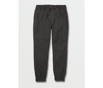 Volcom - Pantalon homme frickin slim jogger charcoal heather