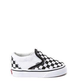 vans Vans - Soulier toddler classic slip-on blk/white checkerboard