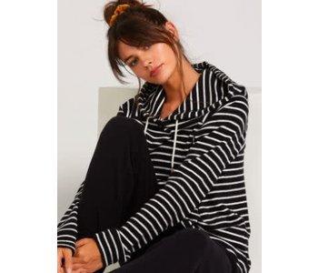 Volcom - Ouaté femme lil hoodie black white