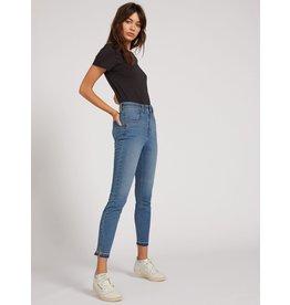 volcom Volcom - Jeans femme liberator high rise camper blue
