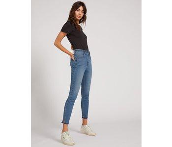 Volcom - Jeans femme liberator high rise camper blue
