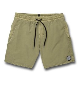 volcom Volcom - Short homme center trunk 17 seagrass green